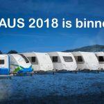 Knaus caravans modeljaar 2018