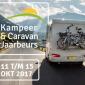 Kampeer en Caravan Jaarbeurs van 11 t/m 15 oktober